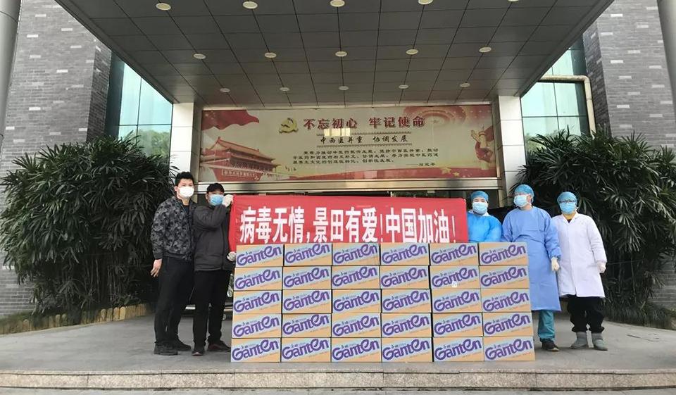 景田捐助行动持续进行,共战防控前线